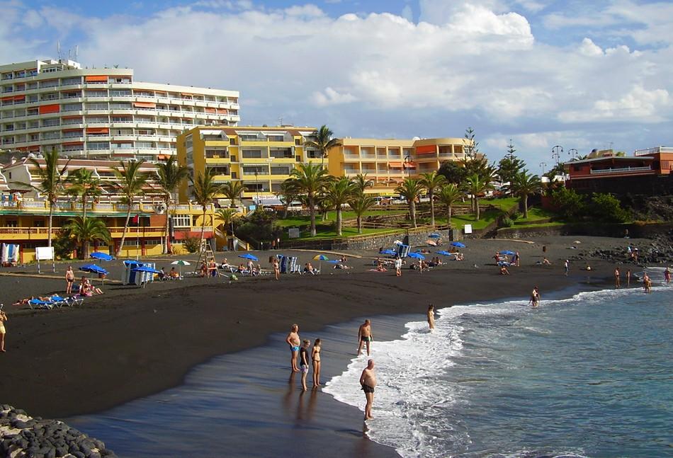 Черные пляжи на тенерифе фото